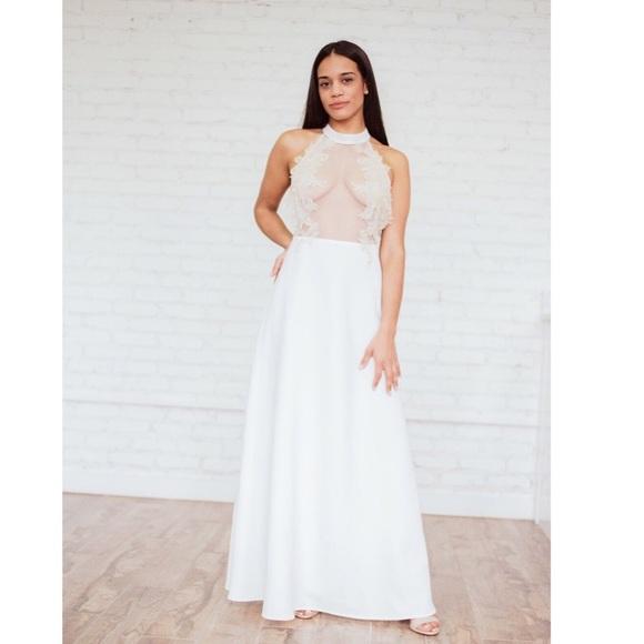Ariti Kaziris Dresses   Halter Wedding Dress   Poshmark